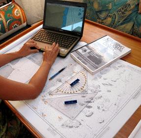estudiar carta navegacion baluma